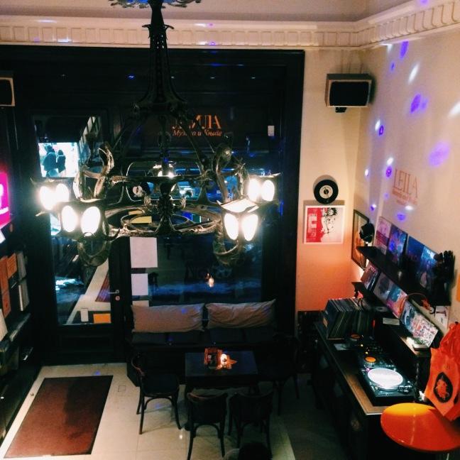 Leila records and books Bar Belgrade 3