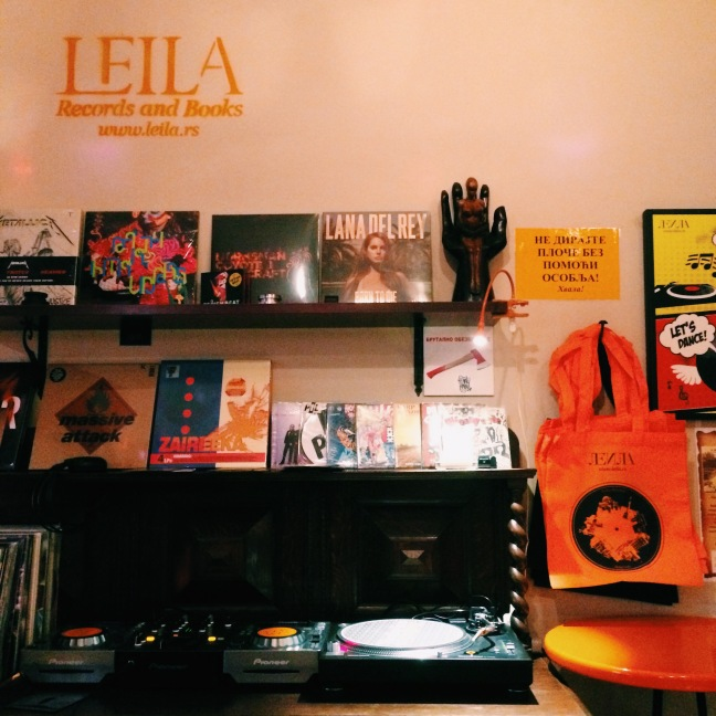 Leila records and books Bar Belgrade 1